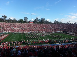 Wisconsin vs. Standford 2013 Rose Bowl.