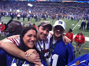 Giants win the 2012 SuperBowl!