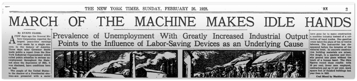 March of The Machines 1928